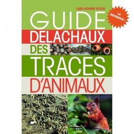 Guide Delachaux des traces d'animaux