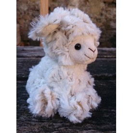 "Peluche ""Mini agneau"" assis"
