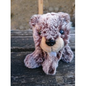 "Peluche ""Mini Marmotte"" assis"