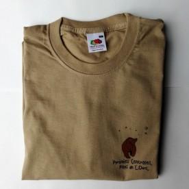 T-shirt en coton Homme Beige
