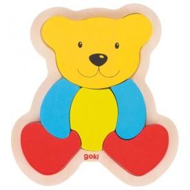 Puzzle ours 6 pièces