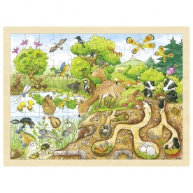 Puzzle decouverte de la nature