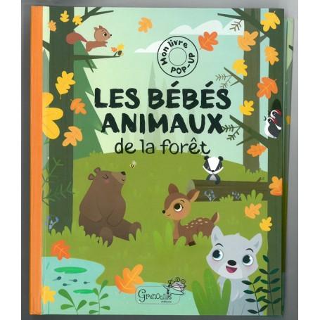 les bebes animaux de la forêt