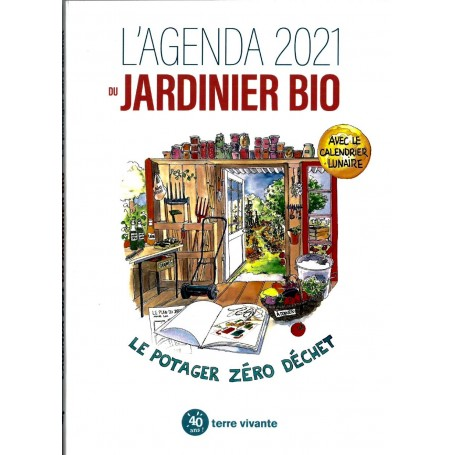 Agenda 2021 du jardinier bio