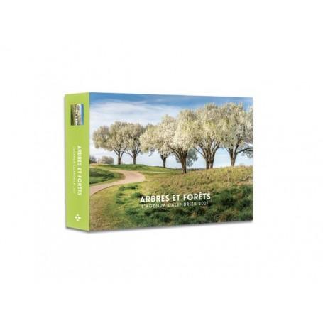 "Agenda-calendrier de bureau ""Arbres & Forêts"""