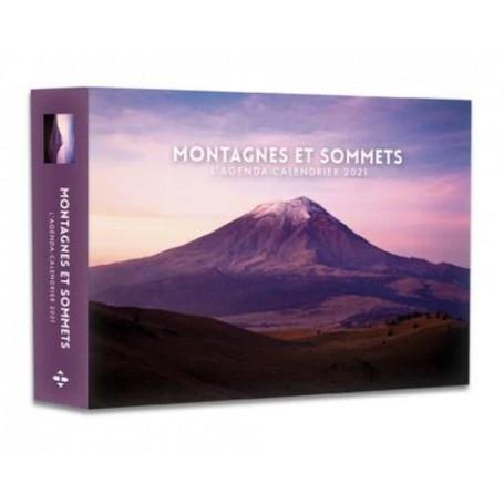 """Agenda-calendrier de bureau """"Montagnes et sommets"""""""