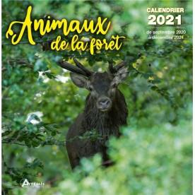 Calendrier Animaux de la forêt 2021