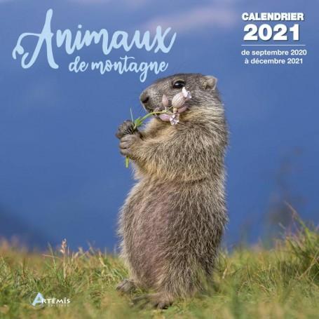 Calendrier 2020 animaux du jardin
