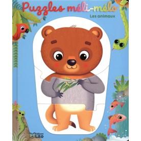 Puzzle Méli-Mélo Les animaux