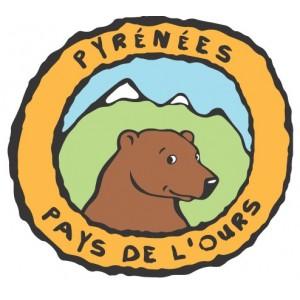 """Autocollant """"Pyrénées, Pays de l'Ours"""""""
